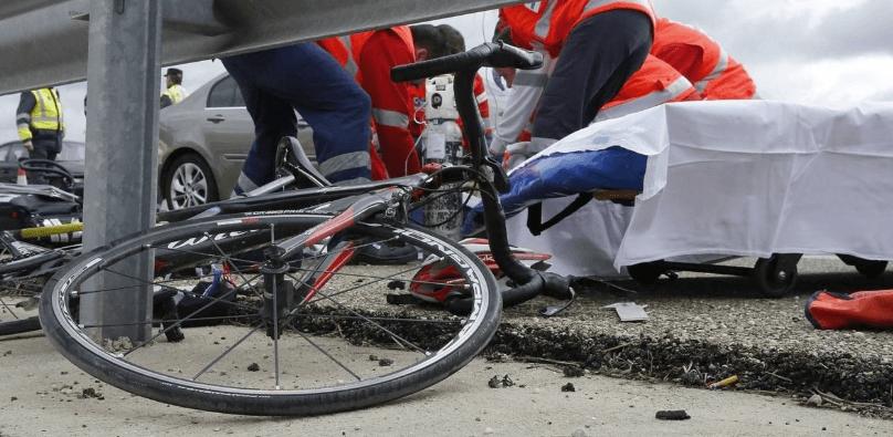 accidente con bicicletas en malaga